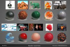 """Materials texture, Eleonora """"Noura"""" Abdrakhmanova on ArtStation at http://www.artstation.com/artwork/materials-texture"""