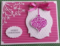 Another card by Esther using Memory Box dies