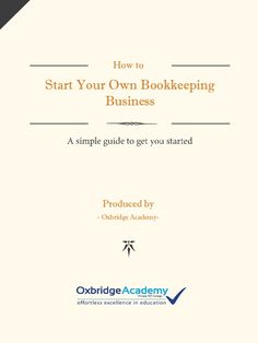 37 catchy bookkeeping business names catchy slogans pinterest how to start your own bookkeeping business produced by oxbridge academy malvernweather Image collections