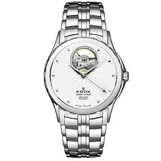Edox Women's 85013 3 AIN Grand Ocean Analog Display Swiss Automatic Silver Watch