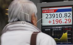 TOKYO/January 09, 2018(AP)(STL.News)—Asian shares were mostly higher on Tuesday, cheered by the upbeat mood on Wall Street and hopes for a robust U.S. economy. KEEPING SCORE: Japan's benchmark Nikkei 225 added 0.6 percent to finish at 23,849.99. Australia's S&P/ASX 200 rose 0.1 ... Read More Details: https://www.stl.news/asian-shares-mostly-rise-wall-street-optimism/64094/