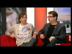 David Tennant On Breakfast Talking About The Escape Artist - YouTube