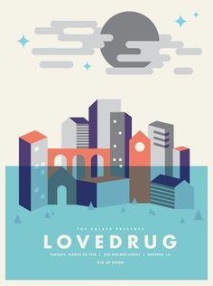 Lovedrug Poster - Jake Dugard
