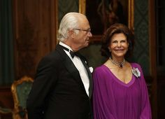 On September 22, 2017, King Gustaf and Queen Silvia hosted a Sweden Dinner at the Royal Palace of Stockholm.