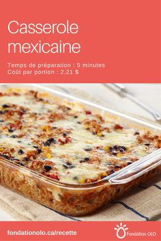 Mexican casserole with rice, ground turkey, black beans, corn and tomatoes. Easy Smoothie Recipes, Easy Smoothies, Mexican Casserole, Mexican Food Recipes, Ethnic Recipes, Mexican Dishes, Brunch, Coconut Recipes, Ice Cream Recipes