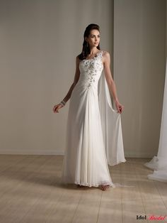 Simple wedding  dresses  IDAS008  $199.99 (USD)