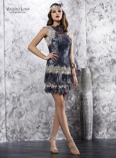 Vestido de fiesta. Colección 2014 #byValerioLuna @Valeri Oaks Luna