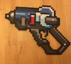 Overwatch Mei Perler Gun by CutecumberArt on Etsy