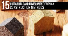 15 Sustainable And Environment-Friendly Construction Methods #architecturephotography #homedecor #decor #architecturelovers #building #arquitectura #arquitetura #archilovers #home #homedesign #architettura #architectureporn #architects #Arch #Archdaily #RTF #architecture #arquitectura #sketch #design #elevation #art #architectdrw #architecturestudent #architexture
