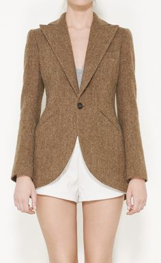 Ralph Lauren Taupe And Olive Jacket