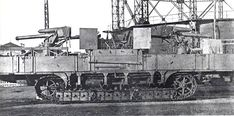 Captured Russian 76.2 mm (3 in) Model 1902 guns were mounted on the A7V chassis with a new trunnion and elevation assembly to enable the gun to fire at enemy aircraft.