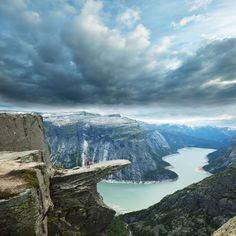 Trolltunga, Hardanger fjord, Norway on traveltoanewcountry.com