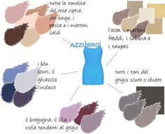 Farò un post per ogni colore, indicandovi tramite uno schema cromatico molto semplice, i colori che possono essere abbinati a quello pres...