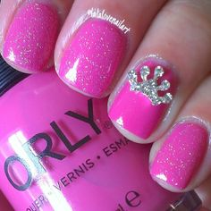 Princess nails!!