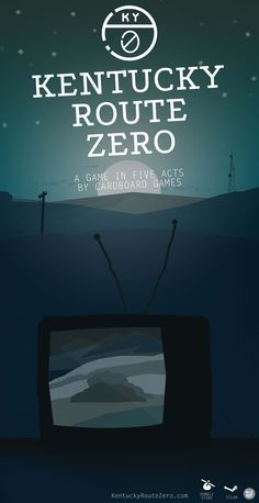 kentucky route zero poster - Google Search