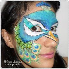 Máscara Pavão
