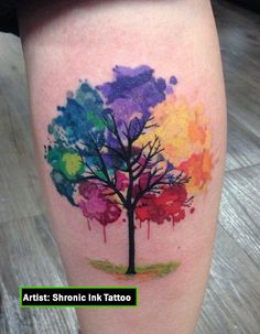 Resultado de imagen para tatuajes de arboles                                                                                                                                                                                 Más