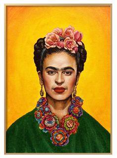 Frida Kahlo Portraits, Kahlo Paintings, Frida Art, Different Media, Mexican Art, Famous Mexican, African American Art, Gaudi, Skull Art