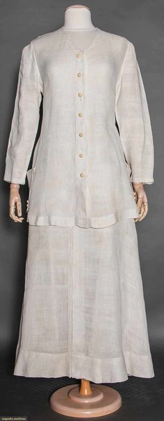 Two Summer Day Garments, 1915-1920, Augusta Auctions, April 8, 2015 NYC