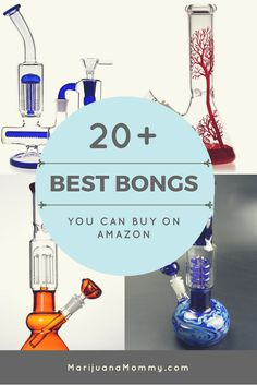Amazon sells everything, even bongs. If you need a new piece to smoke cannabis or marijuana, here are 20+ of the best bongs on Amazon.
