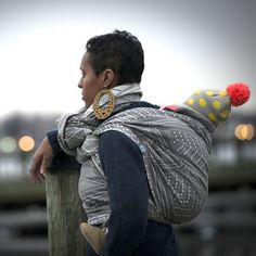 Pavo Textiles - Gotham Steel // don't usually like pavo designs but this one is sweet! Gotham Steel, Woven Wrap, Baby Wraps, Soft Summer, Baby Wearing, Baby Fever, What To Wear, Maternity, Baby Boy