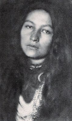 Gertrude Simmons Bonnin aka Zitkala-Sa (Red Bird), a writer, editor, musician, teacher and political activist, from the Yankton Sioux nation...