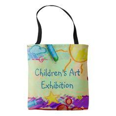 Children's Art Exhibition Tote Bag