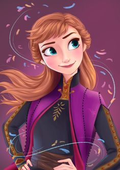 Anna Frozen, Disney Frozen, Anna Disney, Disney Princess, Disney Illustration, Illustrations, Disney Sketches, Jelsa, Disney And Dreamworks