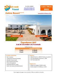 Zahira Resort - Campobello di Mazara (Tp) Capodanno 2017 Per info e preventivi tel 0921428602 Email: info@demirviaggi.com Web: www.demirviaggi.com #Sicilia #Viaggi #LastMinute #Capodanno