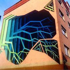 3D public mural by 1010zzz in Germany