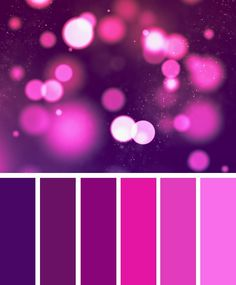 Magenta and purple color palette #color #purple #inspiration