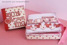 Mini album con scatola di Marinella