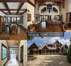 One of our past favorites for this week's #WelcomeHomeWednesday ! #VPCbuilders #customhome #custom #Wednesday #throwback #mountainhome #mountainliving #rustic #exterior #interior #design