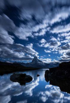 Massif du Cervin (Valais Switzerland).