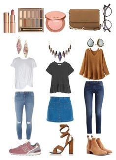 Untitled #235 by mharford3 on Polyvore featuring polyvore, moda, style, WithChic, The Great, MINKPINK, Calvin Klein, Dorothy Perkins, Paul & Joe Sister, Chloé, New Balance Classics, Gucci, Michael Kors, Kendra Scott, Moscot, Urban Decay, tarte, Charlotte Tilbury, fashion and clothing