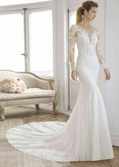 Lace Wedding Dress Cheap Mother Of The Bride Dresses Backless Wedding Dresses Fancy Wedding Dresses Red Bridal Dress Denim Wedding Dresses, Boho Wedding Dress With Sleeves, Wedding Dress Sizes, Long Sleeve Wedding, Cheap Wedding Dress, Bridal Dresses, Event Dresses, Bridal Gown, Sheath Wedding Gown