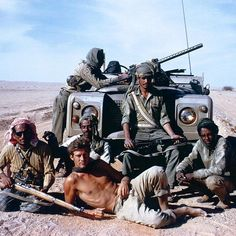 Has there ever been a cooler adventure photo than this?! Ran Fiennes in his youth out in the Empty Quarter.