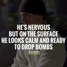 lose yourself eminem quotes - Google Search