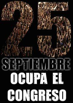 #25S #ocupaelcongreso