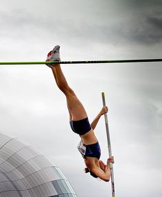 April Steiner Bennet - Pole Vault: The Bupa Great North CityGames (by jimmyosram1)