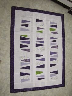 Wedges Quilt - a Pattern from Janome