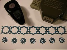 Stampin' Up!'s Lace Ribbon Border Punch Ideas