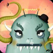 Crée ton monstre : une adorable application créative (iPad) - DeclicKids, applis enfants - catalogue critique d'applications iPad iPhone And...