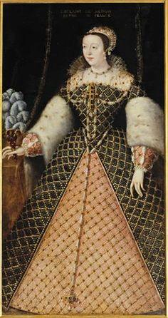 Fresque représentant le mariage d'Henri II et de Catherine de Medicis Il s'agit d'une oeuvre peinte par Vasari dans la seconde moitié des...