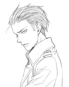 Rivaille (Levi)....... Who made this? He looks so hot with his hair slicked back