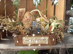 Welcome Easter Bunny Rabbit Carrots and by SouthernBelleScentz