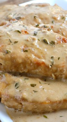 Creamy Balsamic and Herb Chicken Recipe ~ Easy and delicious!