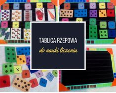 Tablica rzepowa do nauki liczenia #countingboard #sensoryboard