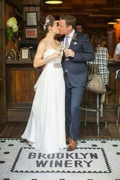 Cute wedding at a winery