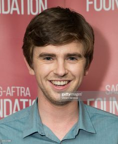 Actor Freddie Highmore attends SAG-AFTRA Foundation Conversations for 'Bates Motel' at SAG-AFTRA Foundation on June 9, 2016 in Los Angeles, California.
